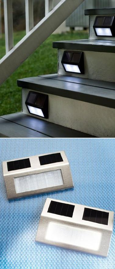 Solar Wedge Lights For Stairways - Alternative Green World