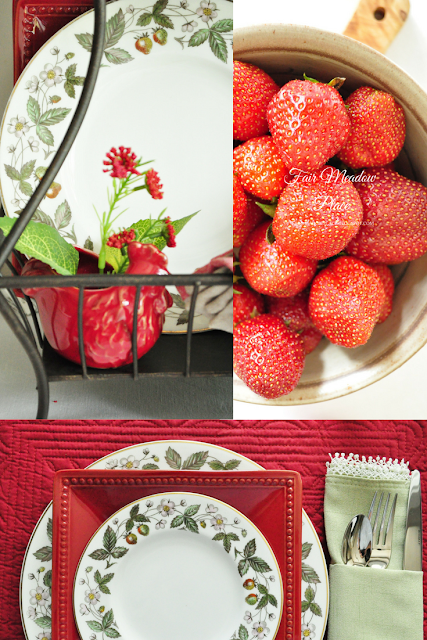Set the Table - Strawberry Hill