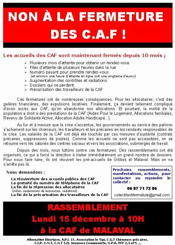 Association De Defense Des Allocataires Caf
