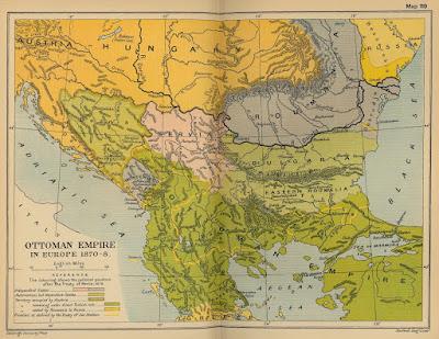 La Grecia nel 1832 , era più piccola dell'Albania (Mappa Wikipedia)