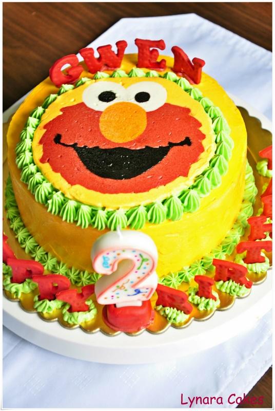 Lynara Cakes Elmo Cakes
