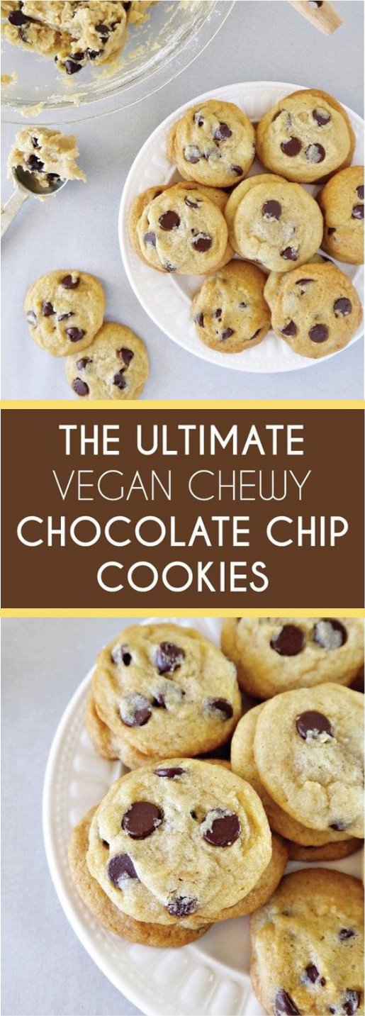 THE ULTIMATE CHEWY CHOCOLATE CHIP COOKIES #cookies #dessert