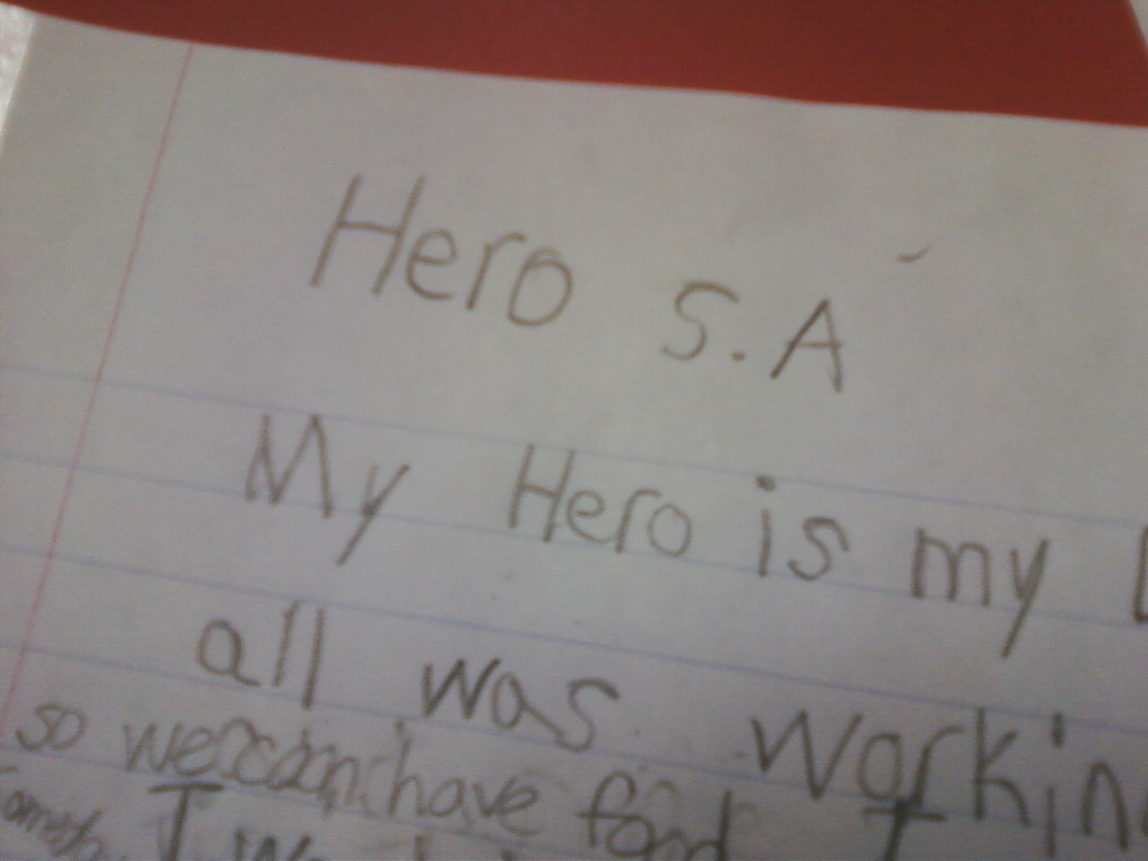 luckeyfrog s lilypad friday funny my kids finished up and turned in hero essays today