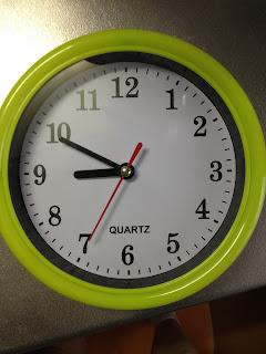 ダイソウの時計