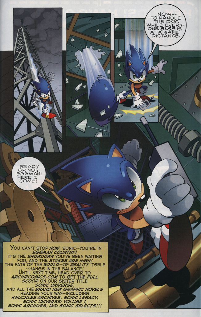 Read online Sonic The Hedgehog comic -  Issue #228 - 31