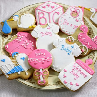 Simple Baby Shower Favor Ideas - Cookies