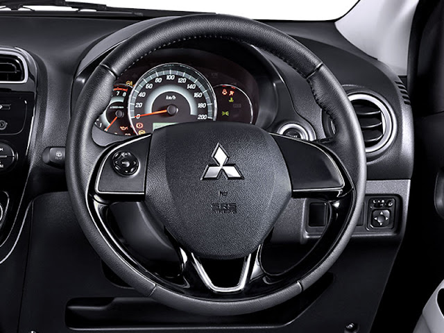 Steer Mitsubishi New Mirage Facelift 2016