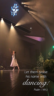 representing Christ in dance
