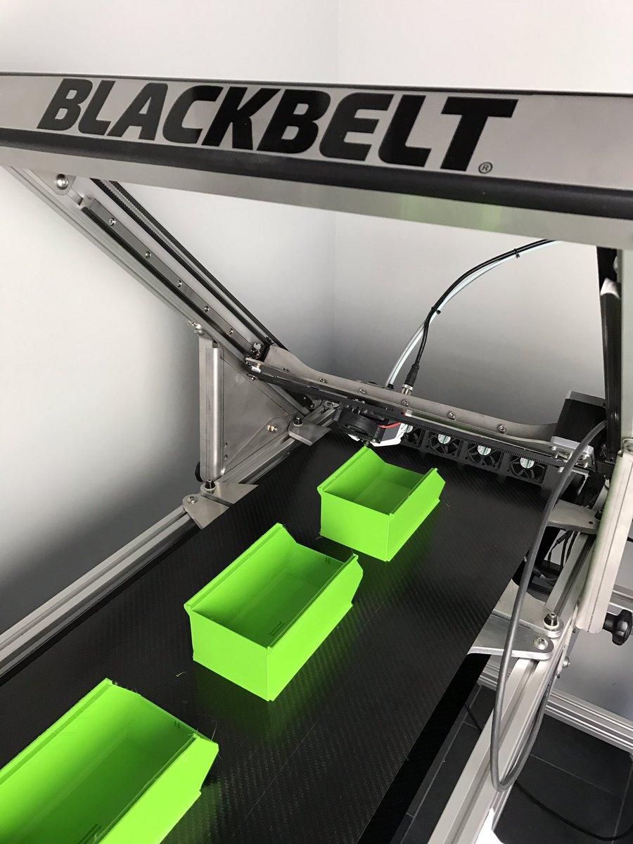 DIY 3D Printing: BlackBelt 3D Printer Works With Conveyor