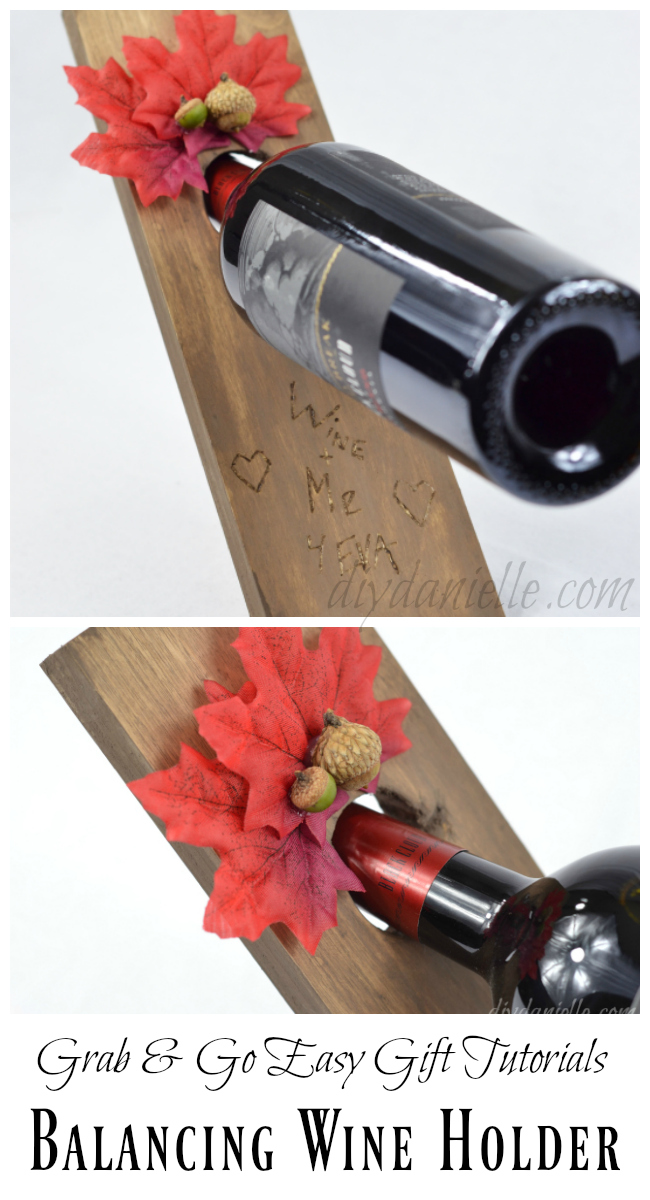 Balancing Wine Holder DIY