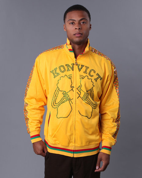 Golden Clothes Konvict Senegal Crossed Arms Rhinestoned