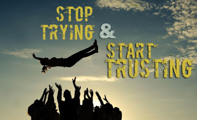 Stop Trying and Start Trusting by Joyce Meyer