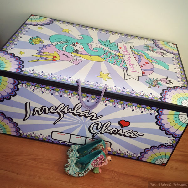 irregular choice mermaid storage chest height comparison