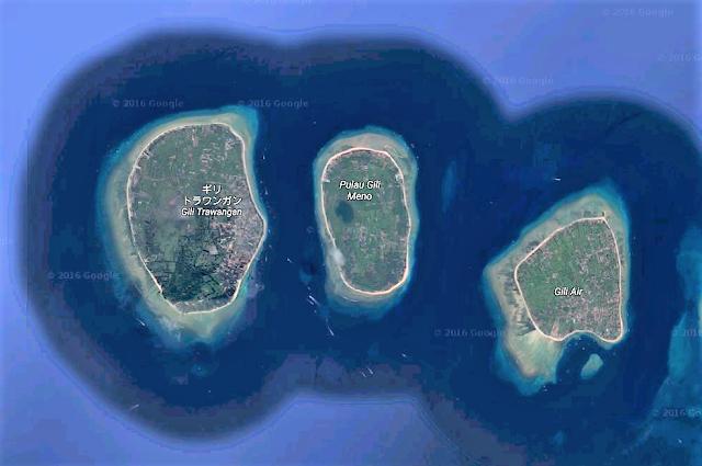 バリ島発パーティーアイランド、ギリトラワンガンのツアー情報