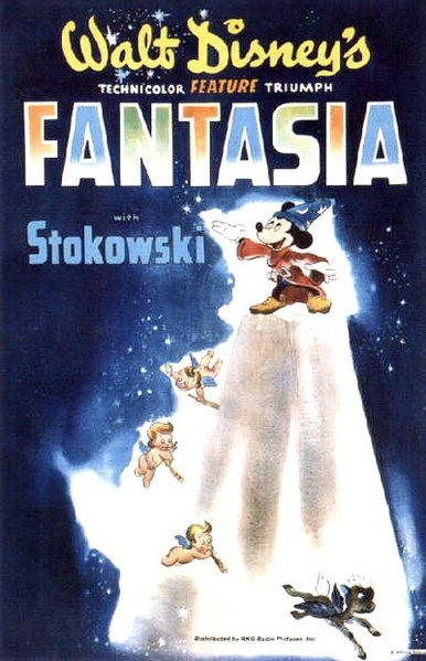 the life and history of fantasia Doug (vo): for this film, though, fantasia is a powerhouse of art in fact, it's actually like going to an art museum, except with motion and music in fact, it's actually like going to an art museum, except with motion and music.