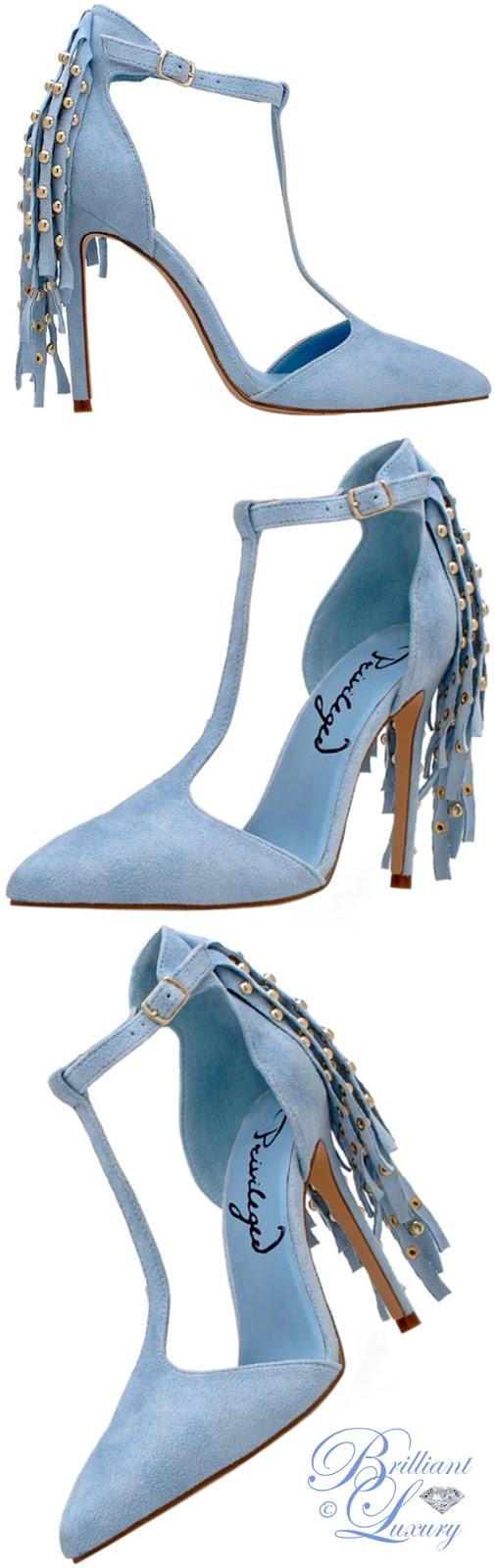 Brilliant Luxury ♦ Privileged Anais T-strap sandals