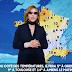 El clima siempre es bueno cuando Yoshiki lo presenta en el programa de televisión francés, Quotidien