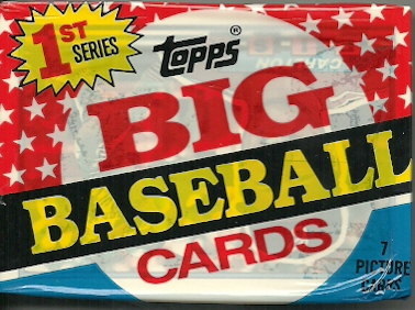 Pursuit Of Red Sox 1989 Topps Big Baseball Cards 1st Series