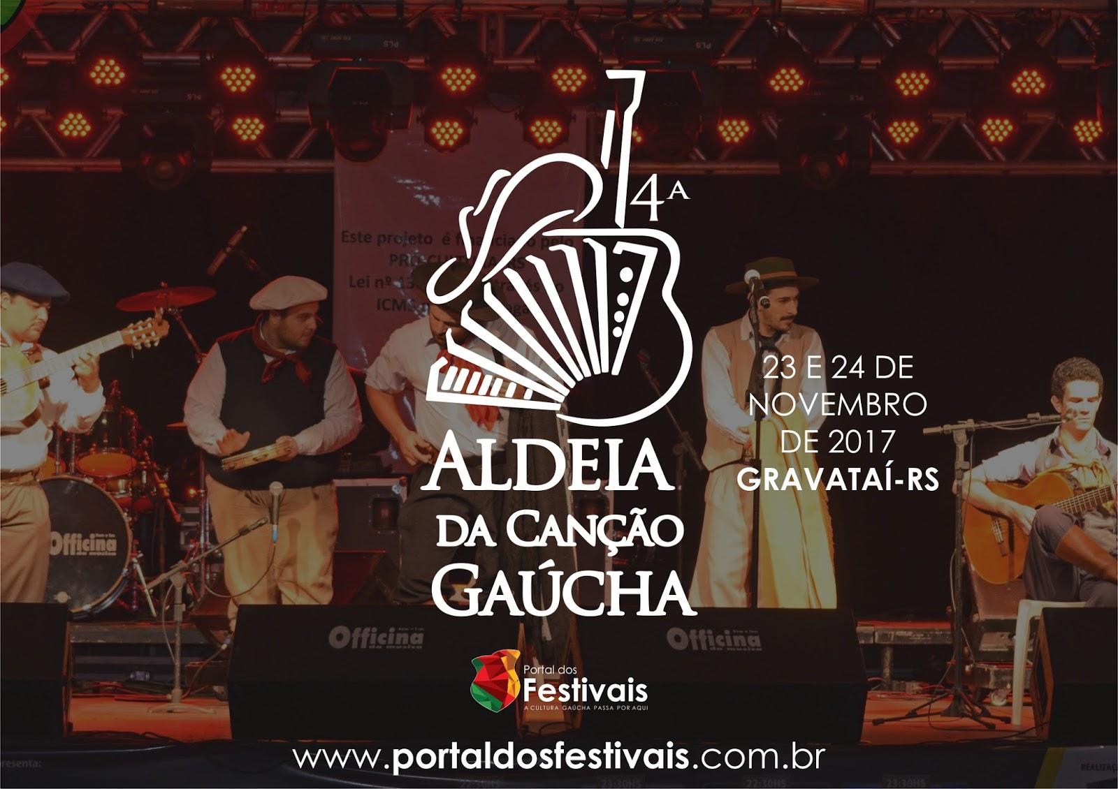 Aldeia da Canção Gaúcha divulga as composições classificadas