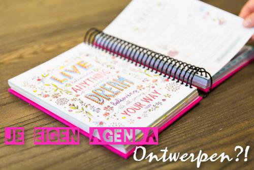agenda zelf ontwerpen