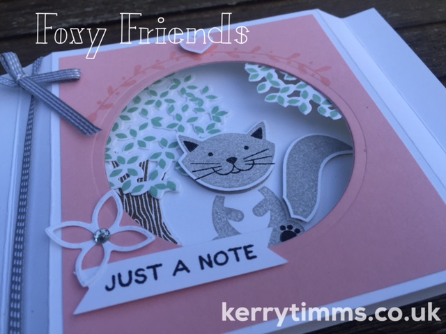 kerry timms stampin up card making class gloucester papercraft scrapbooking handmade foxy friends thoughtful branches create creative craft cat invitation gift homemade stamping hobby female 2