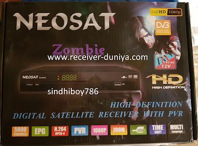 Latest Software for Neosat Zombie | Ali 3510 Green Goto Tendberg Software