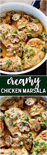 Creamy Chícken Marsala