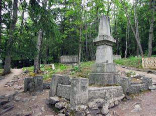 Frank Reid's tombstone 1898