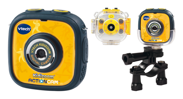 VTech Kidizoom Action Cam - accessories