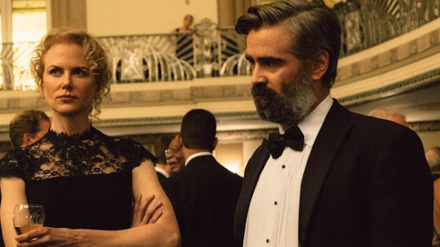 "Nicole Kidman and Colin Farrell in ""The Killing of a Sacred Deer"""