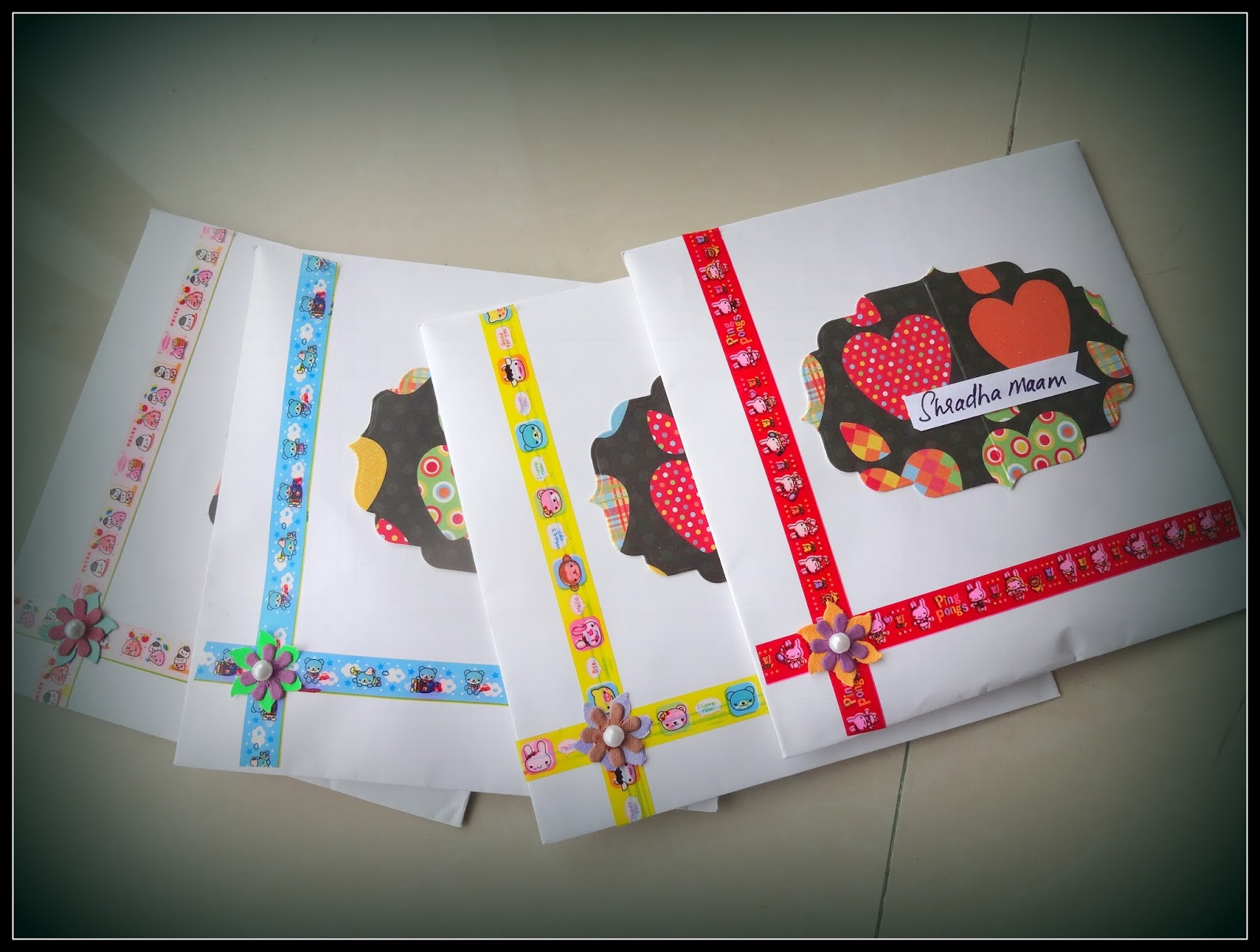 Happymomentzz Crafting By Sharada Dilip Teachers Day