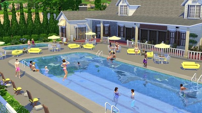 What 39 s the name of the song the sims 4 pools for Pool design sims 3