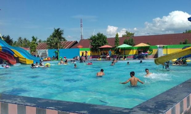 Wisata Air Terbaik Waterboom Pinrang Di Pinrang