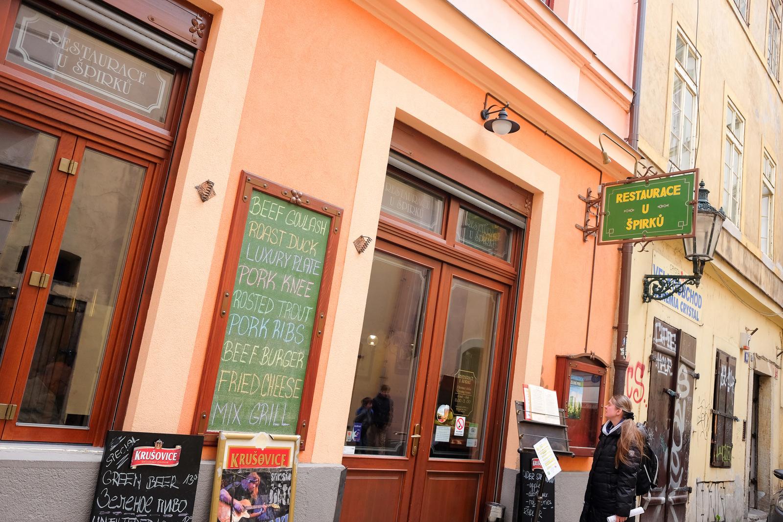 U Spirku, Prague