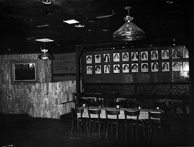 Inside the Cheers rock club in North Babylon, Long Island 1977