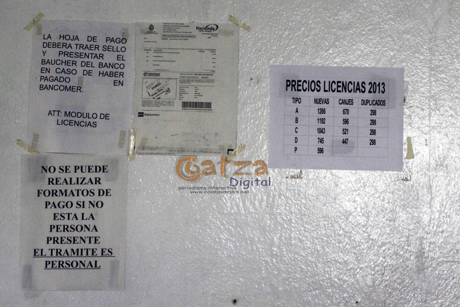 Licencia De Conducir: Costo Licencia De Conducir Veracruz 2016