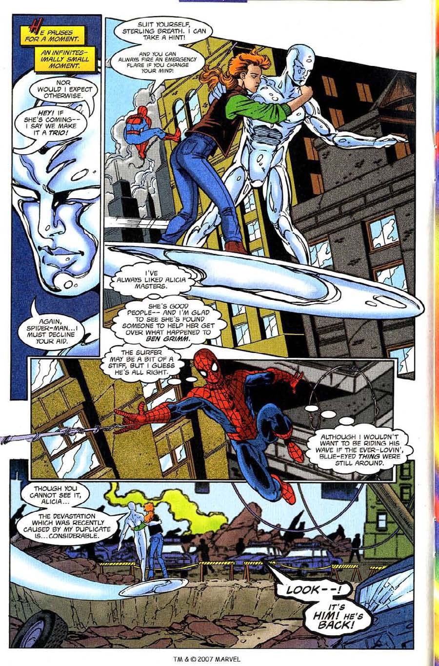 Read online Silver Surfer (1987) comic -  Issue #132 - 14