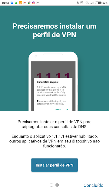 DNS público 1.1.1.1 da Cloudflare