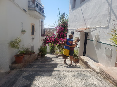The streets of Salobreña