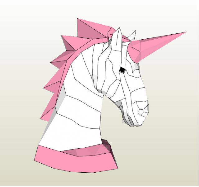 Unicornio de mesa 40cm