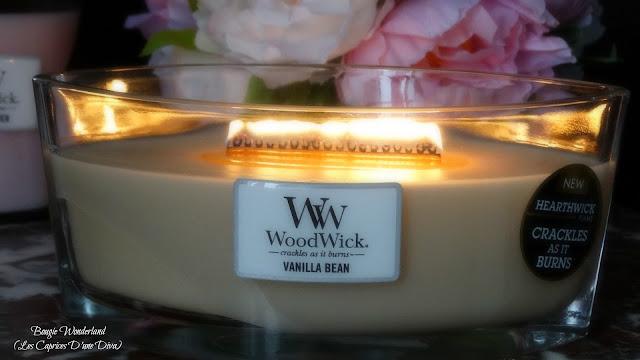 avis Vanille Bean de Woodwick