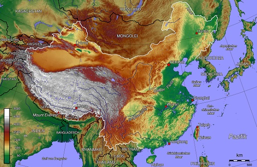 Resultado de imagen de China física.