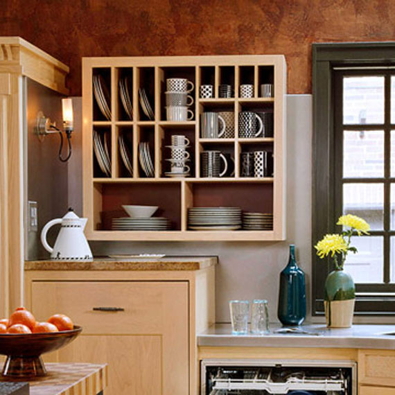 Creative ideas to organize pots and pans storage on your for Creative small kitchen designs