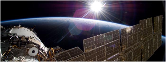 OVNI avistado pela Estação Espacial Internacional