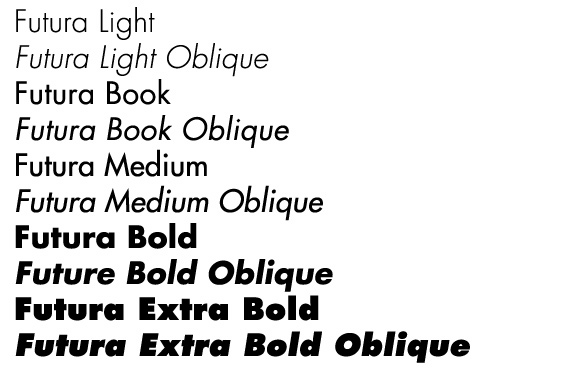 Paul Renner Futura Typeface  History Of Graphic Design