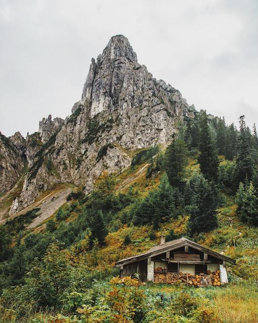 Ruhpolding  - Hörndlwand  Wandern Bayerische Alpen  Wanderung-Ruhpolding  Bergtour-Bayern  Wandern-im-Chiemgau 07