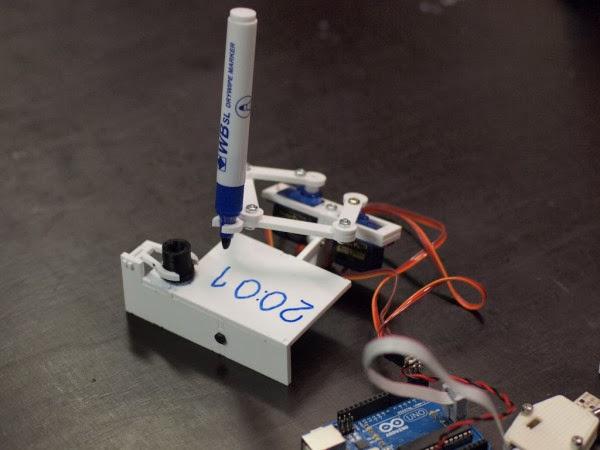 8fd2821620d Plotclock relogio com Arduino