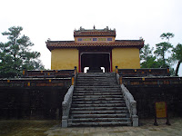 Imperial Tomba dell'imperatore Minh Mang in Hue - Vietnam