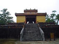 Tumba Imperial del Emperador Minh Mang en Hue - Vietnam