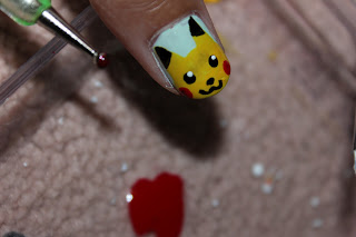 Old To Bold 10 Pikachu Nail